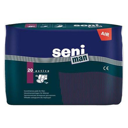 Seni Man Active 20 ks inkont. pomůcky