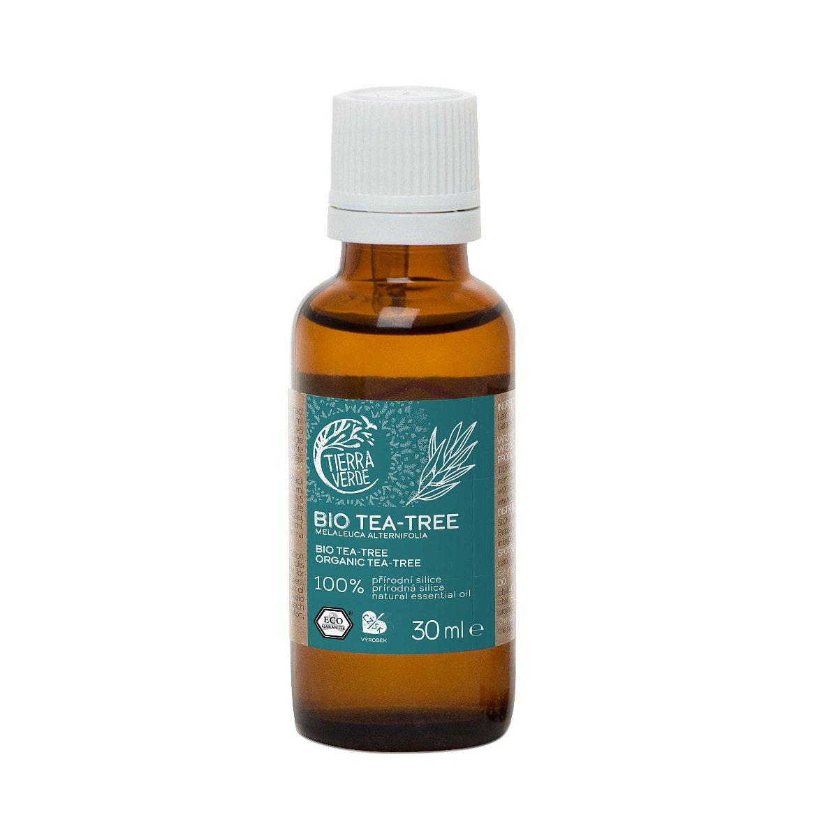 Tierra Verde Silice BIO Tea-Tree 30 ml