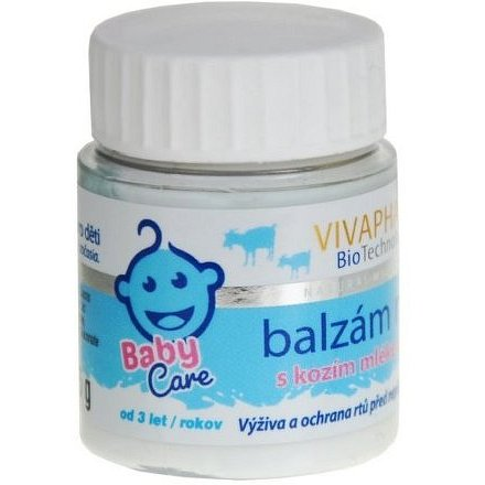 VIVAPHARM KIDS Balzám na rty s kozím mlékem 25ml