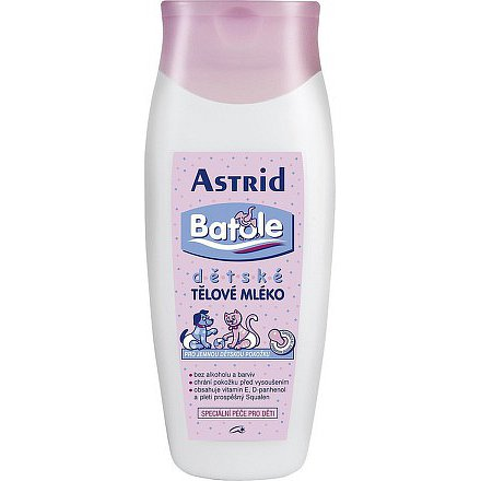 Astrid Batole dětské tělové mléko 200ml