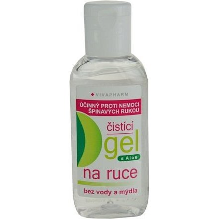 Vivapharm antibakteriální gel na ruce s Aloe 50 ml