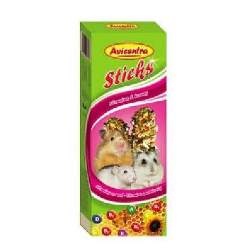 Avicentra tyčinky malý hlodavec - vitamin +med 2ks