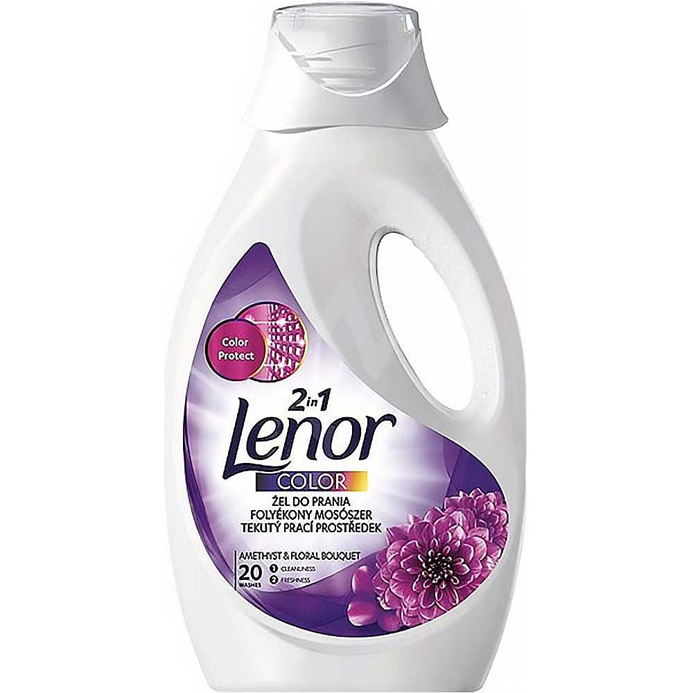 LENOR 2v1 Amethyst & Floral Bouquet Color 1,1 l 20 praní