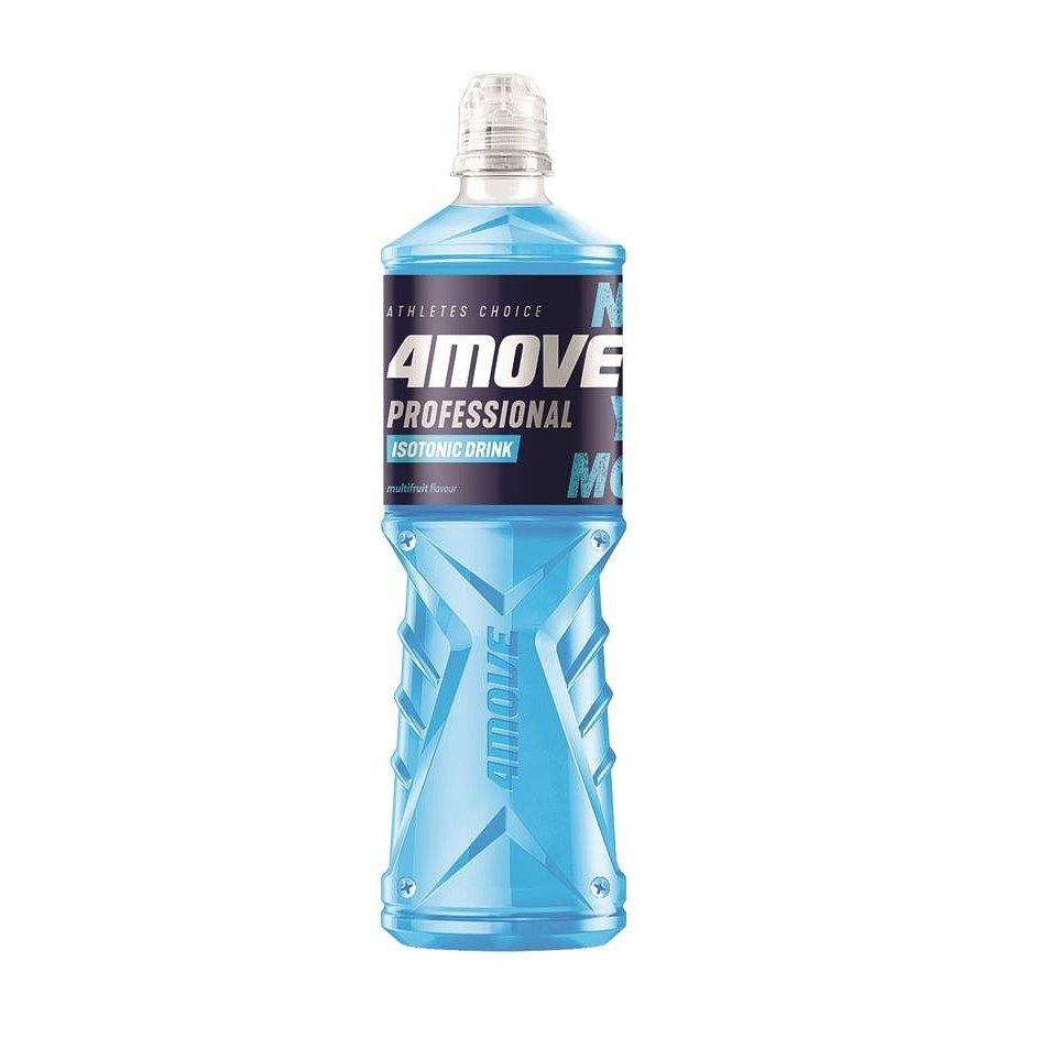 4MOVE Isotonic Drink Multifruit nesycený nápoj PET 750 ml