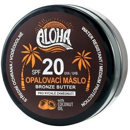 ALOHA Tělové opalovací máslo OF20 coconut oil 200ml