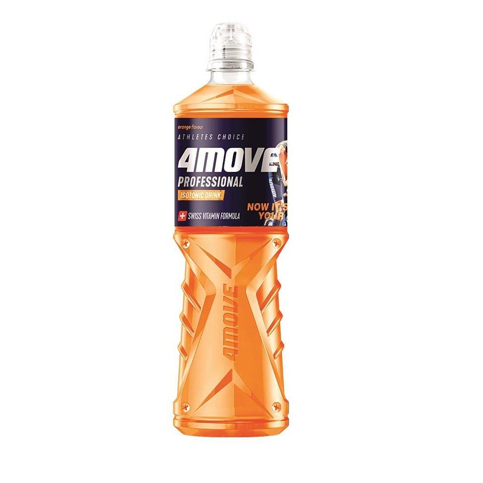 4MOVE Isotonic Drink Orange nesycený nápoj PET 750 ml