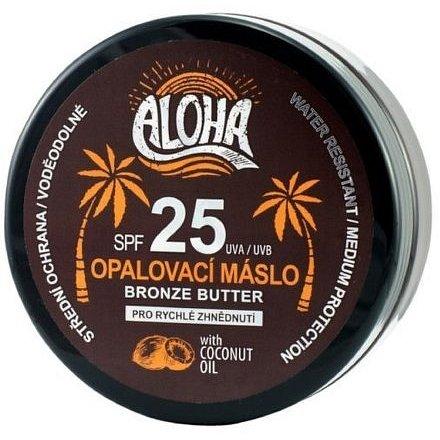 ALOHA Tělové opalovací máslo OF25 coconut oil 200ml