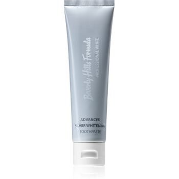 Beverly Hills Formula Professional White Advanced Silver Whitening bělicí zubní pasta s částečkami stříbra 100 ml