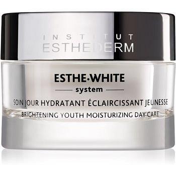 Institut Esthederm Esthe White omlazující denní péče pro rozjasnění a hydrataci pleti  50 ml