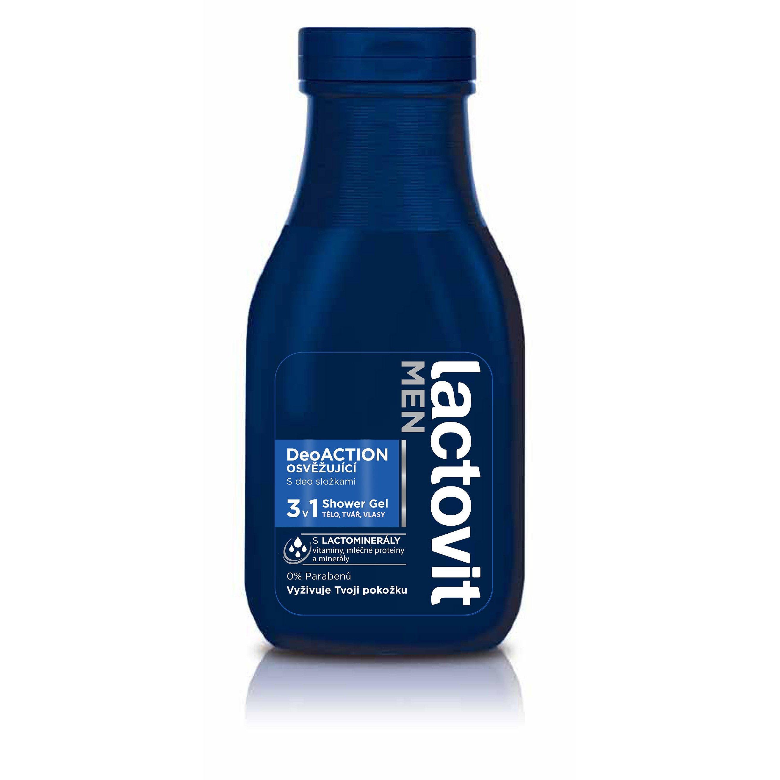 Lactovit Deo Action Men sprchový gel 300 ml