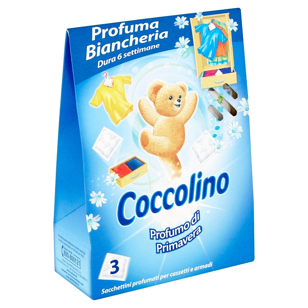 COCCOLINO vonné sáčky Profumo di Primavera 3 ks