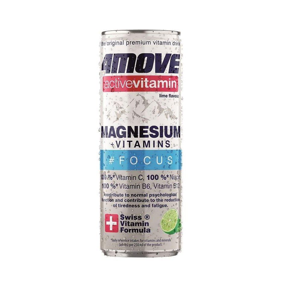 4MOVE Active Vitamin Magnesium sycený nápoj 250 ml