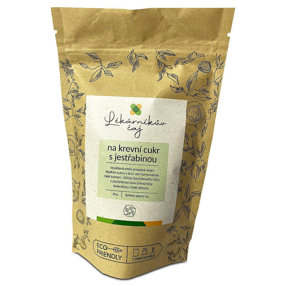 LÉKÁRNA.CZ Lékárníkův čaj na krevní cukr s jestřabinou 50 g