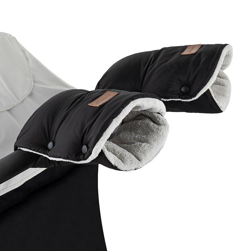 PETITE&MARS Rukávník / rukavice Jasie na kočárek Ink Black