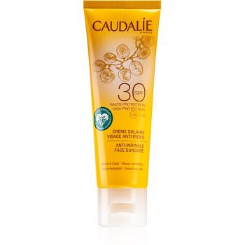 Caudalie Suncare opalovací krém na obličej s protivráskovým účinkem SPF 30  50 ml