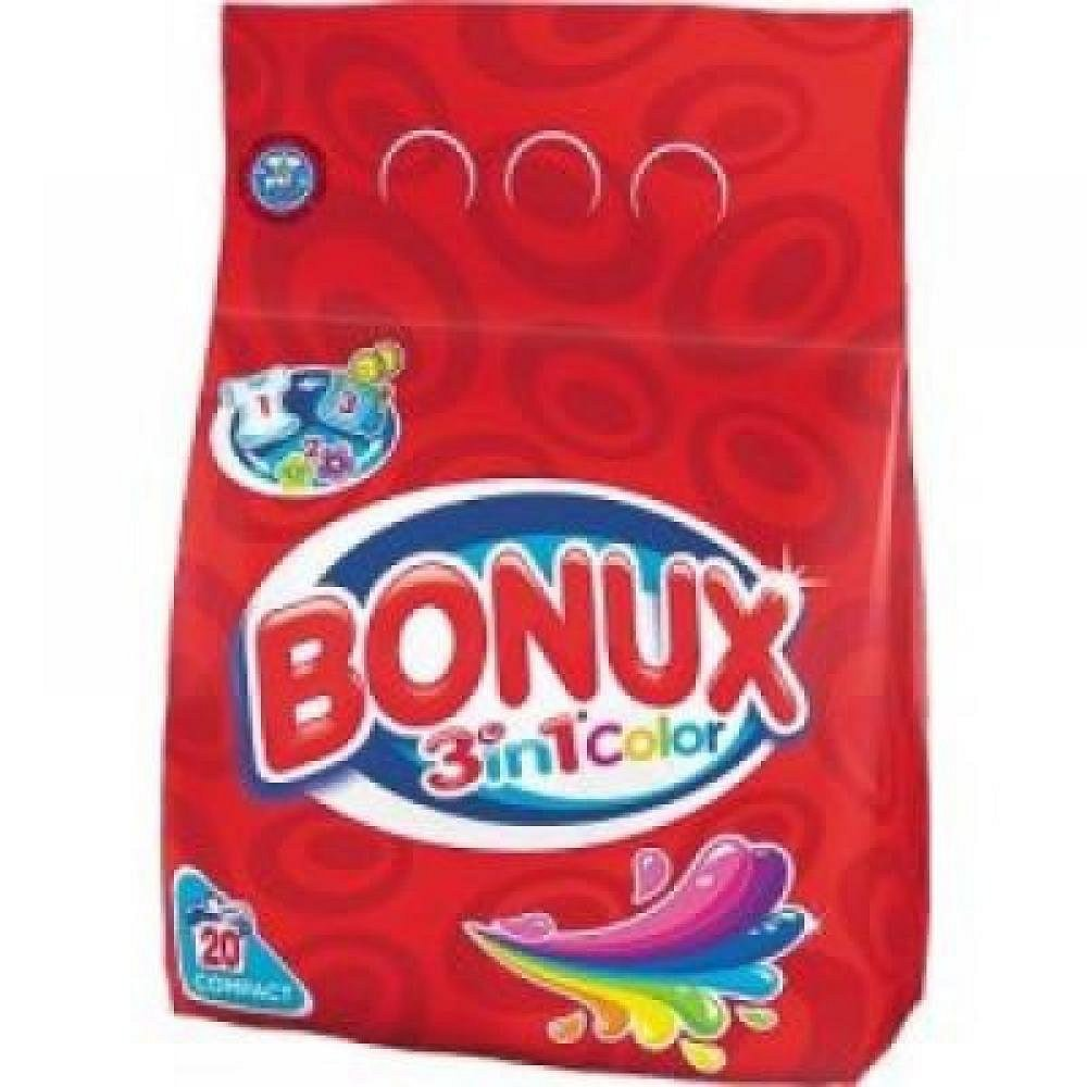 Bonux prášek Color 1,5kg - 20 pracích dávek