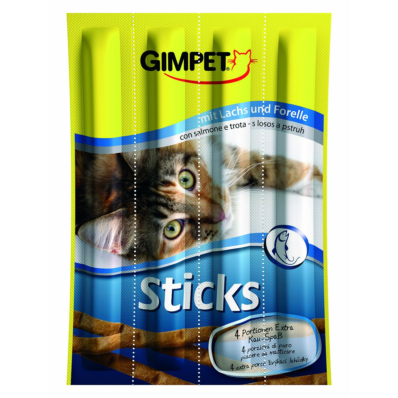 Gimpet Sticks losos+pstruh 4ks