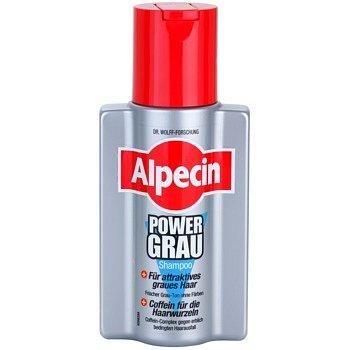 Alpecin Power Grau šampon pro zvýraznění šedých odstínů vlasů 200ml
