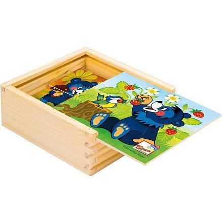 Bino Moje první puzzle, Baribal 4 x 4 dílky