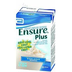 ENSURE PLUS vanilková příchuť perorální roztok 1 x 220 ml