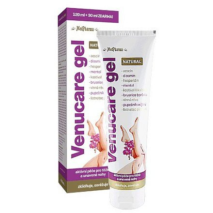MedPharma Venucare gel NATURAL 120ml+30ml ZDARMA