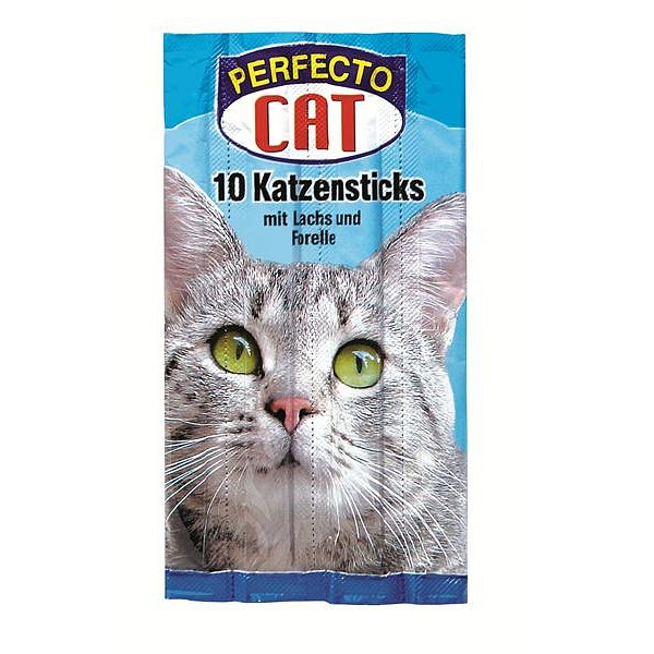 Perfecto Cat Jerkys losos+pstruh 10ks
