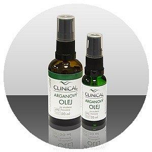 Arganový olej lisovaný za studena Clinical 50 ml
