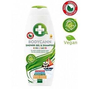 Bodycann přírodní dětský sprch.gel - šampon 250ml