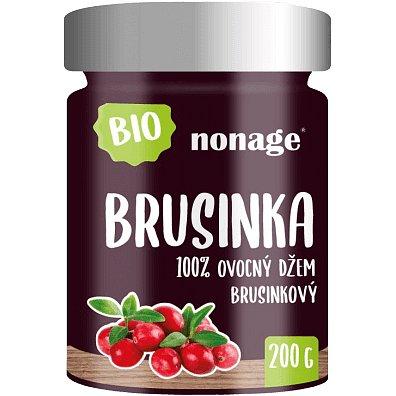 Nonage Bio Brusinkový ovocný džem 200g