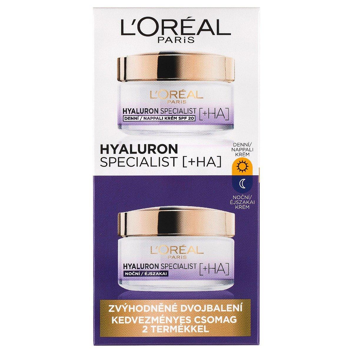 Loréal Paris Hyaluron Specialist denní a noční krém 2x50 ml