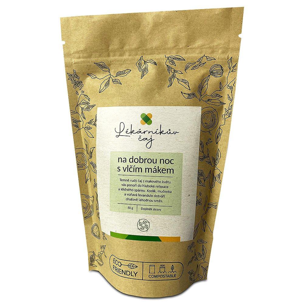 LÉKÁRNA.CZ Lékárníkův čaj na dobrou noc s vlčím mákem 50 g