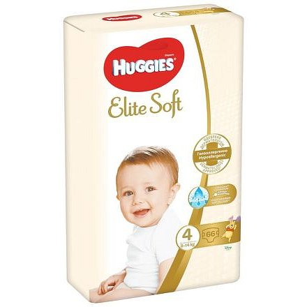 Huggies Elite Soft 4 – 66ks