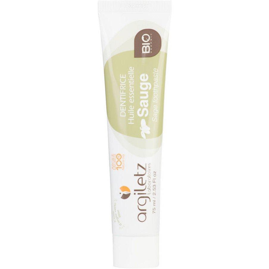 Argiletz Zubní pasta se zeleným jílem šalvěj BIO 75ml