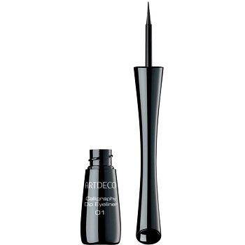Artdeco Calligraphy Dip Eyeliner tekuté oční linky odstín 01 Black 2,5 ml