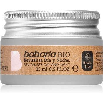 Babaria BIO revitalizační oční krém 15 ml