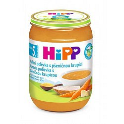 HIPP BABY MENU BIO Polévka slepičí s pšeničnou krupicí 190g