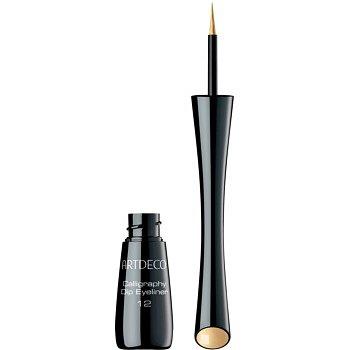 Artdeco Calligraphy Dip Eyeliner tekuté oční linky odstín 12 Gold 2,5 ml