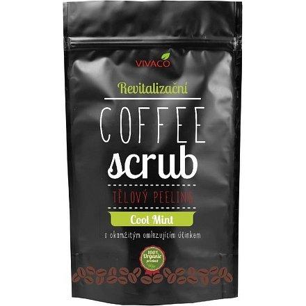 COFFE SCRUB - tělový peeling revitalizační Cool Mint 200g