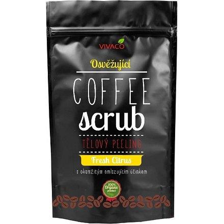 COFFE SCRUB - tělový peeling osvěžující Fresh Citrus 200g