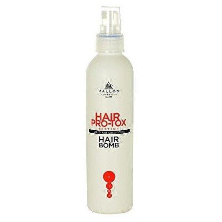 Kondicionér na vlasy ve spreji KJMN (Hair Pro-Tox Hair Bomb) 200 ml