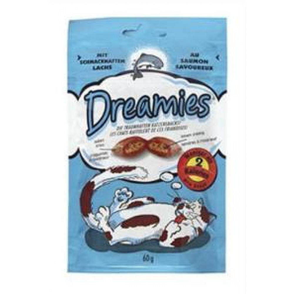 MARS Dreamies kočka pochoutka losos 60g