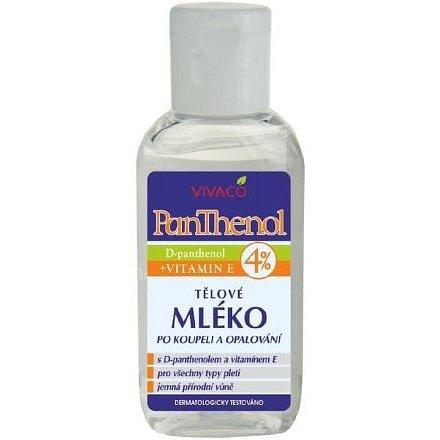 Panthenol tělové mléko 4% – cestovní balení 50ml