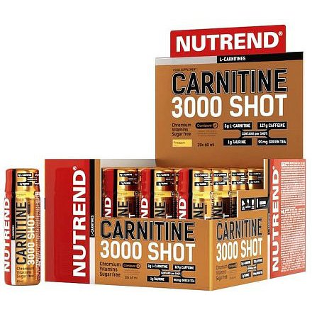 CARNITINE 3000 SHOT, 20x60 ml, ananas