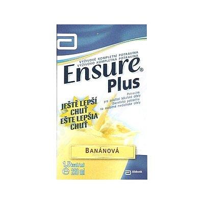 ENSURE PLUS banánová příchuť perorální roztok 1 x 220 ml