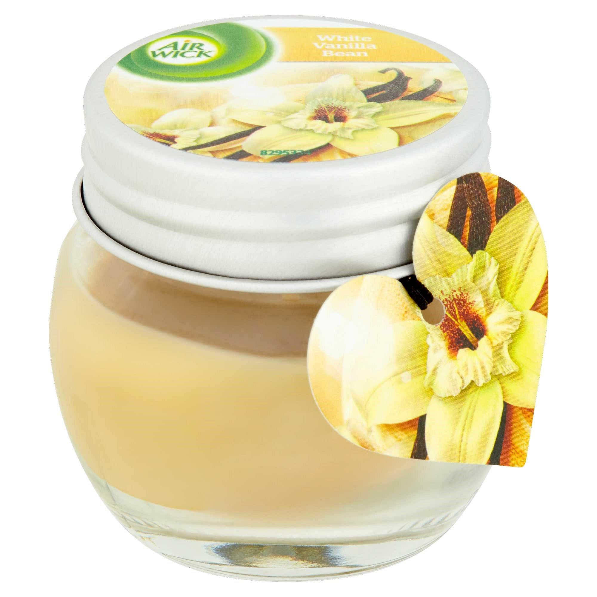 AIR WICK Vanilkový lusk 30 g – svíčka