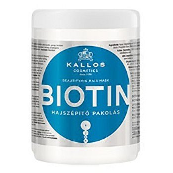 Maska na vlasy s biotinem (Biotin Beautifying Hair Mask) - Objem: 275 ml