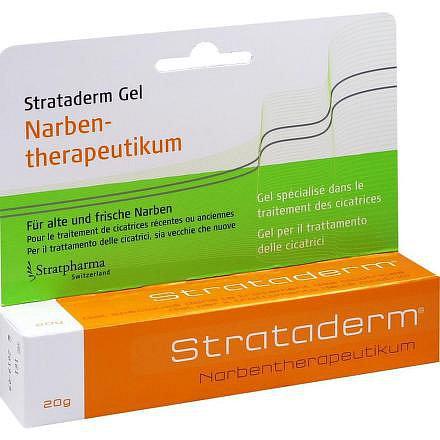 Strataderm gel k léčbě jizev 20 g
