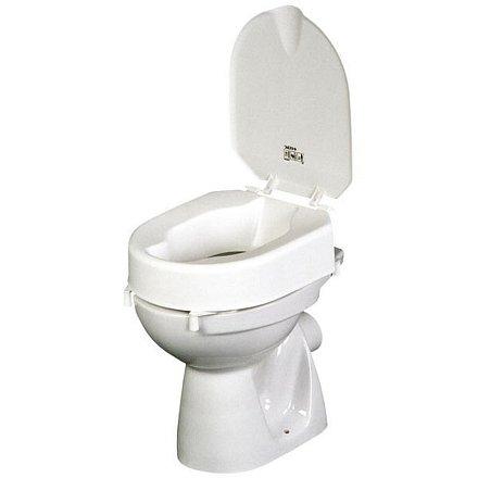 Toaletní nástavec Etac HI-LOO s poklopem, výška 10 cm