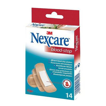 3M Nexcare Blood Stop hemostatická náplast 14ks