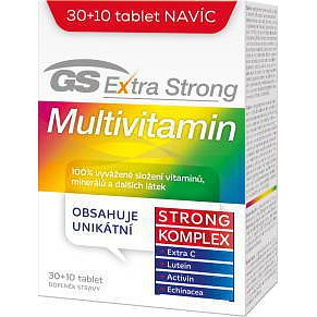GS Extra Strong Multivitamin tablety 30+10 2016
